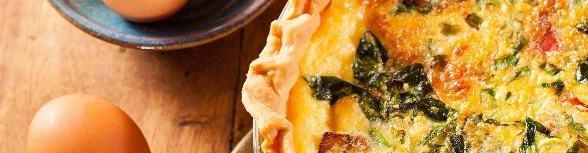Quiche con spinaci, Piattone della Latteria Valtellina e Pancetta tesa Menatti: Immagine