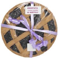 Crostata di grano saraceno con confettura di mirtilli - Pasticceria Moreschi