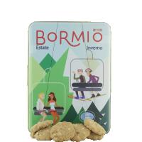 Scatola di biscotti di Bormio Pasticceria Pozzi